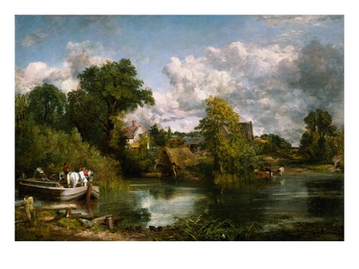 The White Horse Gicléetryck av John Constable