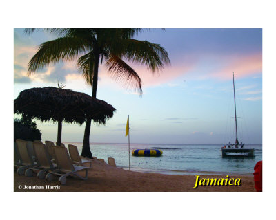 Jamaican Sunset Photographic Print