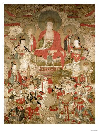 Buddhas, 1675 Premium Giclee Print