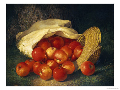 Autumn's Bounty, 1869 Premium Giclee Print by Robert Spear Dunning