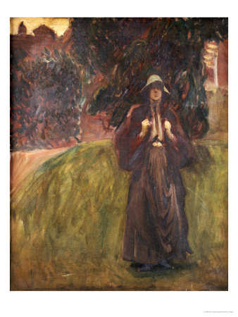 Portrait of Miss Clementine Anstruther-Thomson Premium Giclee Print by John Singer Sargent