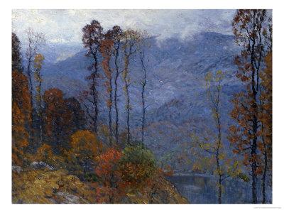 Mount Chocorua, 1904 Premium Giclee Print by John Joseph Enneking