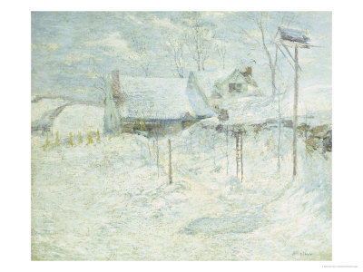 Last Touch of Sun Giclee Print by John Henry Twachtman