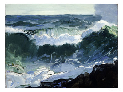 Comber Premium Giclee Print by George Wesley Bellows