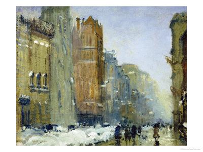 Fifth Avenue, New York Premium Giclee Print by Arthur Clifton Goodwin