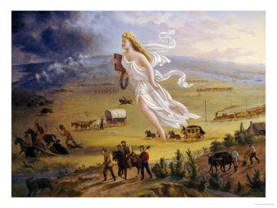 American Progress, 1872 Giclee Print
