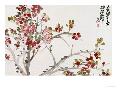 Flowers, 1910 reproduction procédé giclée
