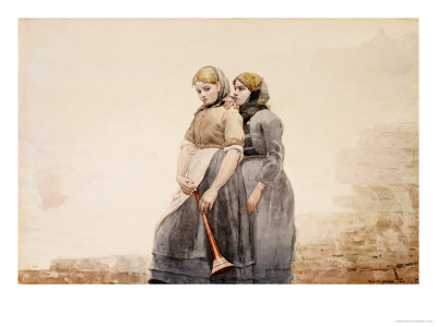 The Fog Horn, 1883 Giclee Print by Winslow Homer