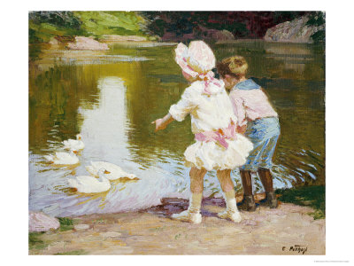 In the Park Premium Giclee Print by Edward Henry Potthast