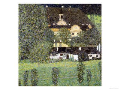 Schloss Kammer Am Attersee II, 1909 Premium Giclee Print by Gustav Klimt
