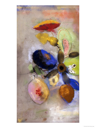 Flowers, 1907-1910 Giclee Print by Odilon Redon