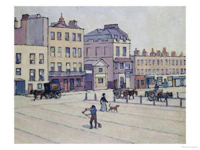 The Weigh House, Cumberland Market, circa 1914 Giclee Print
