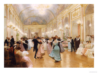 The Ball Premium Giclee Print by Victor Gabriel Gilbert
