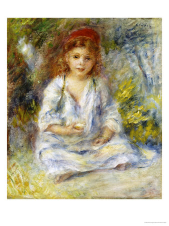 Little Algerian Girl, circa 1881 Premium Giclee Print by Pierre-Auguste Renoir