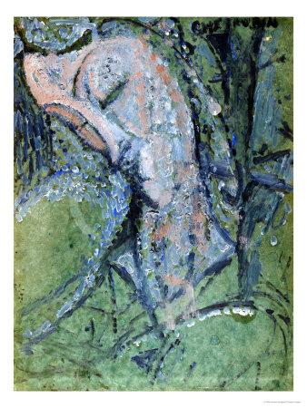 Cherubin Stampa giclée di Amedeo Modigliani