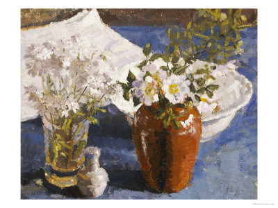 Still Life with Flowers in a Vase, circa 1911-14 Giclée-Druck