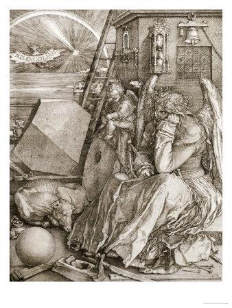 Melancholia, 1513 Premium Giclee Print by Albrecht Dürer