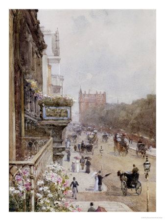 Piccadilly, 1894 Giclee Print by Rose Maynard Barton
