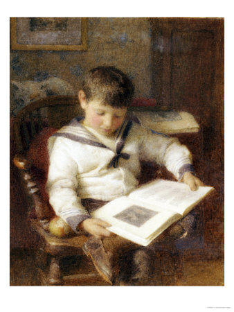 The Picture Book Giclee Print by H.e. Jones