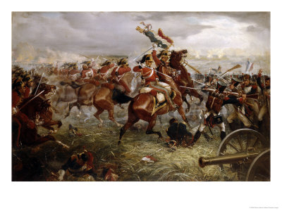 Capture of the Eagle, Waterloo, 1898 Premium Giclee Print by William Holmes Sullivan