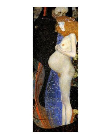 Hope I Giclee Print by Gustav Klimt