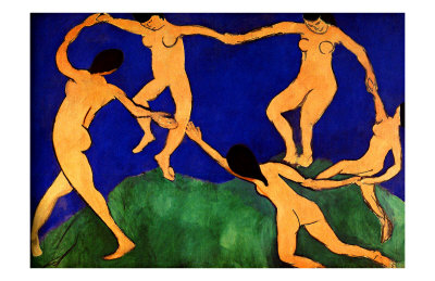 La danse I reproduction procédé giclée
