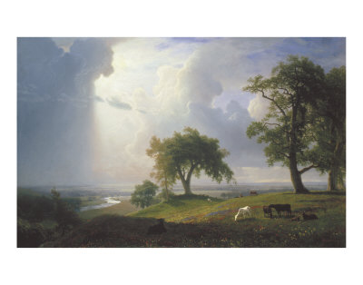 California Spring, 1875 Poster by Albert Bierstadt