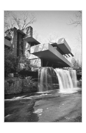 Frank Lloyd Wright, Falling Water Art