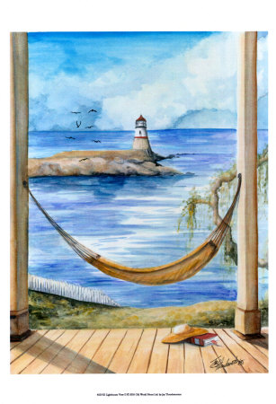 Lighthouse View II Prints by Jay Throckmorton