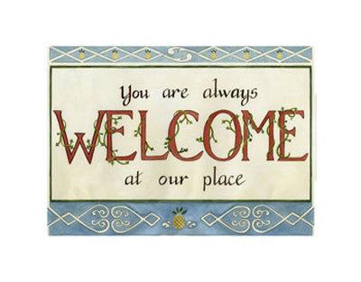 Welcome Prints by Tara Friel