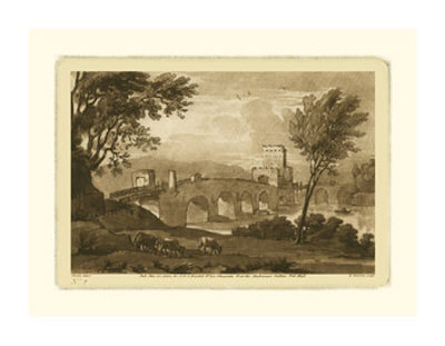 Pastoral Landscape III Giclee Print by Claude Lorrain