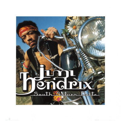 Jimi Hendrix - South Saturn Delta Kunstdruck