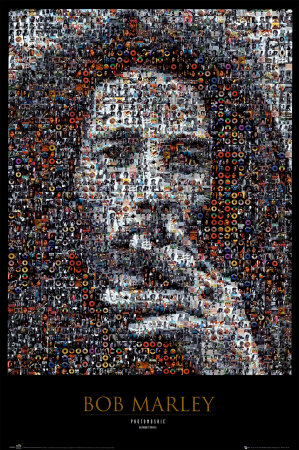 Bob Marley, Mosaik Plakat