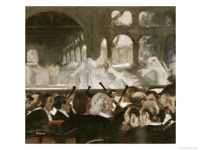 Ballet Scene from Mayerbeer's Roberto Il Diavola Giclee Print by Edgar Degas