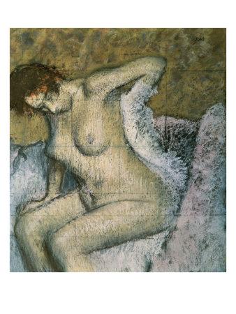After the Bath Giclee Print by Edgar Degas