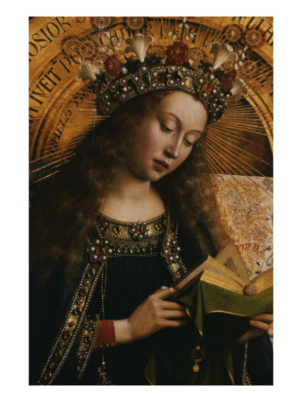 The Virgin- Ghent Altarpiece Giclee Print
