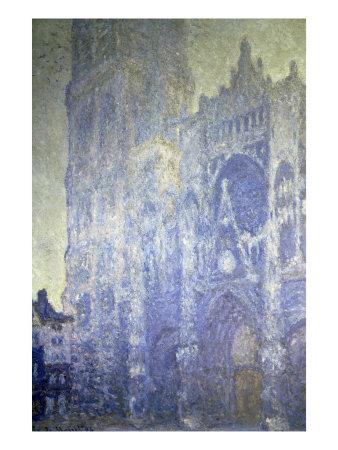 Cathedrale de Rouen, Effet Du Matin Giclee Print by Claude Monet