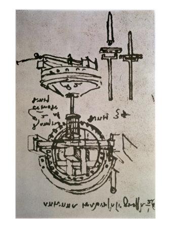 leonardo da vinci drawings. Print by Leonardo da Vinci