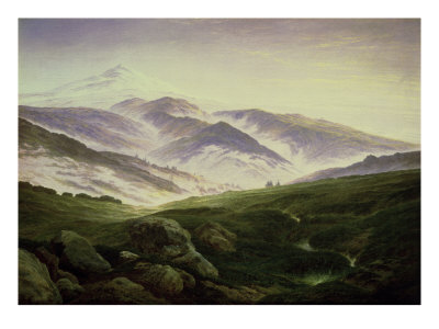 Riesengebirge reproduction procédé giclée