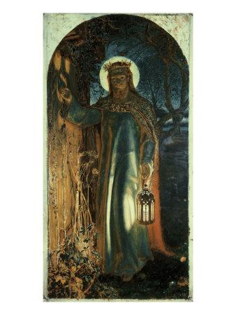 Jesus, Light of the World Giclee Print by William Holman Hunt