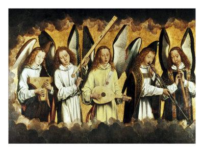 Choir of Angels Giclee Print by Hans Memling
