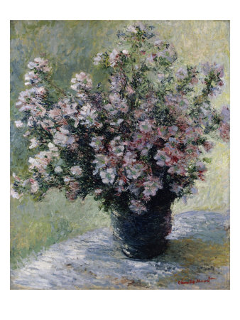 Vase of Flowers Giclee Print by Claude Monet