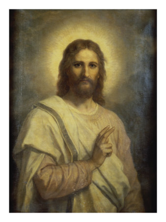 The Lord's Image Premium Giclee Print by Heinrich Hofmann