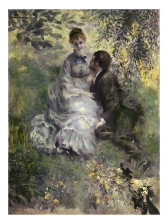 The Lovers Giclee Print by Pierre-Auguste Renoir