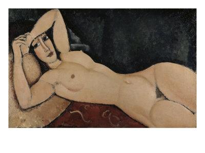 Reclining Nude Giclee Print by Amedeo Modigliani
