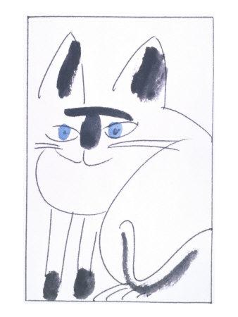 Cat II Giclee Print