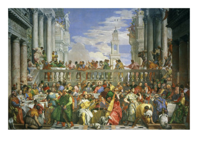 The Wedding at Cana Giclee Print