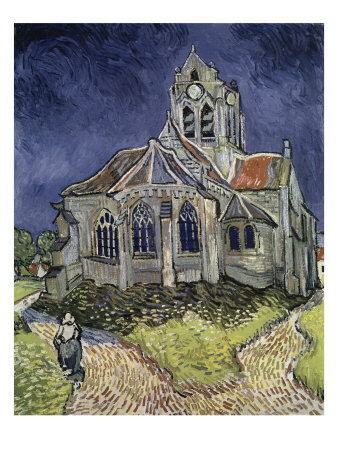 Church at Auvers, c.1916 Giclee Print