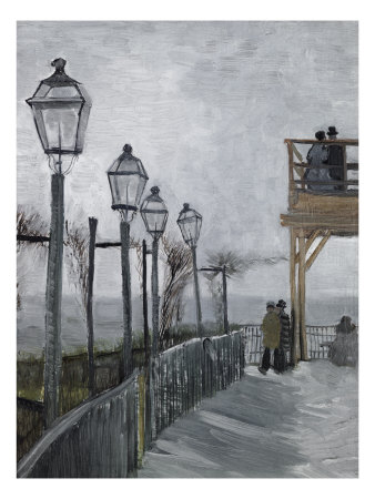 Terrace and Observation Deck at the Moulin Giclee Print