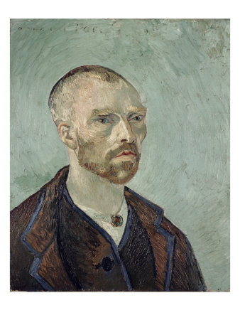 Self-Portrait Dedicated to Paul Gauguin, c.1888 Giclée-tryk